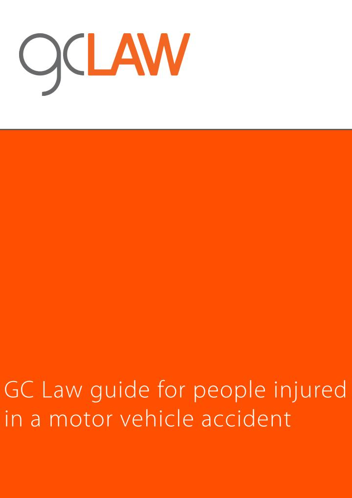 GC Law guide for people injured