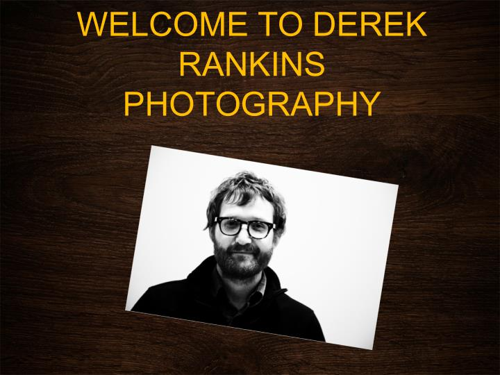 WELCOME TO DEREK