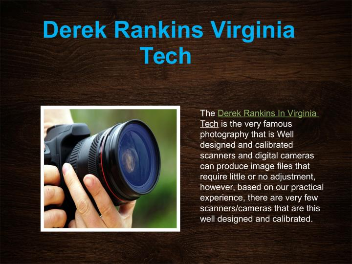 Derek Rankins Virginia