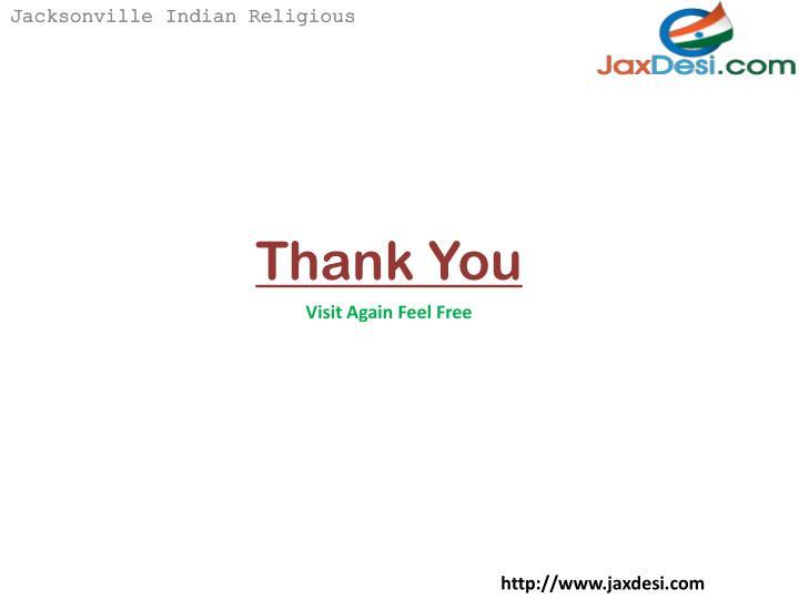 Jacksonville Indian Religious