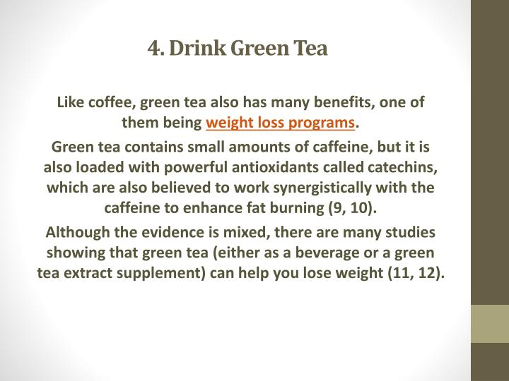 4. Drink Green