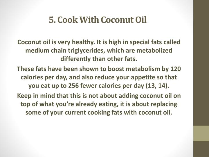 5. Cook With Coconut