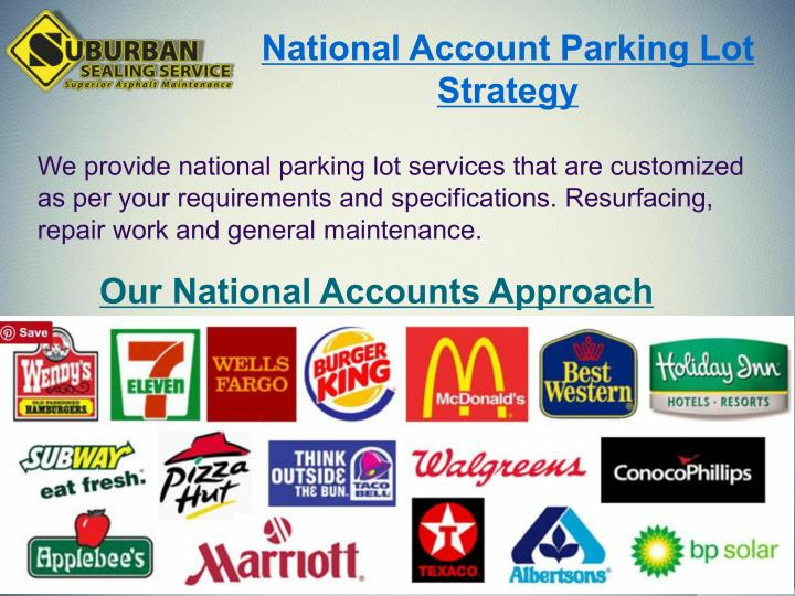 National Account Parking Lot