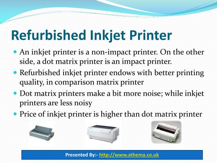 Refurbished Inkjet Printer