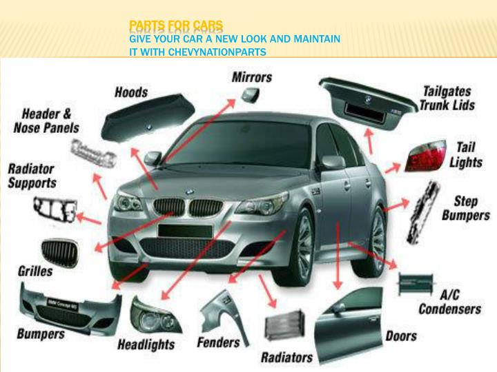 parts for cars