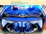 system for cars enjoy also in card with high bass volume and clear sound