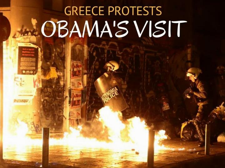 Greece challenges obama s visit