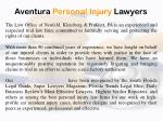 aventura personal injury lawyers