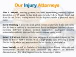 our injury attorneys
