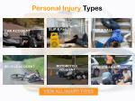personal injury types