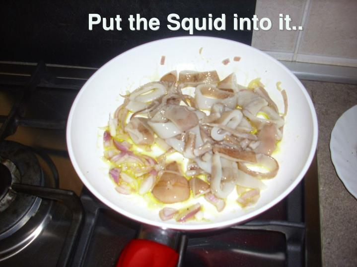 Put the Squid into it..