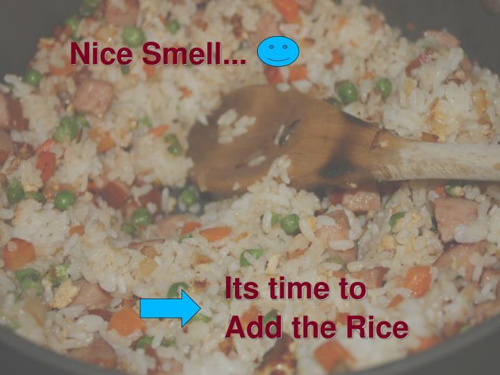 Nice Smell...
