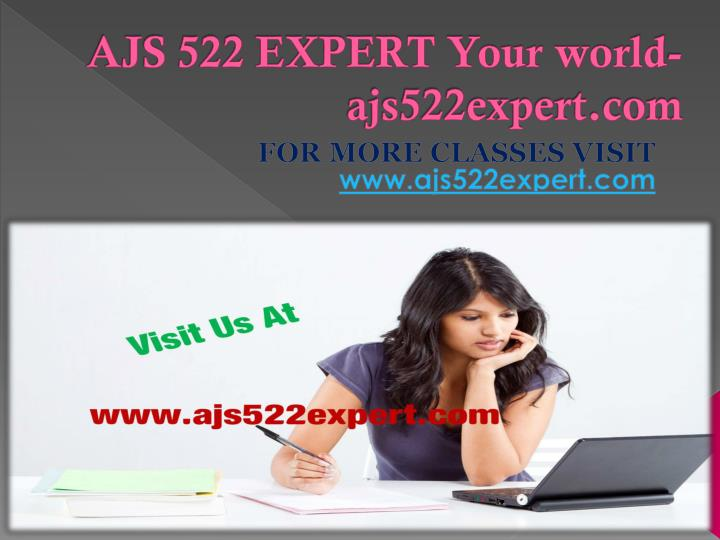 AJS 522 EXPERT Your world-ajs522expert.com