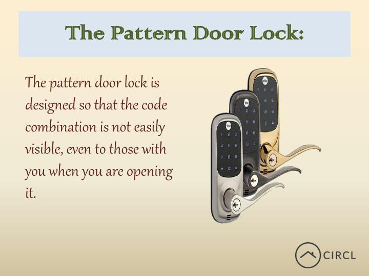 The Pattern Door Lock: