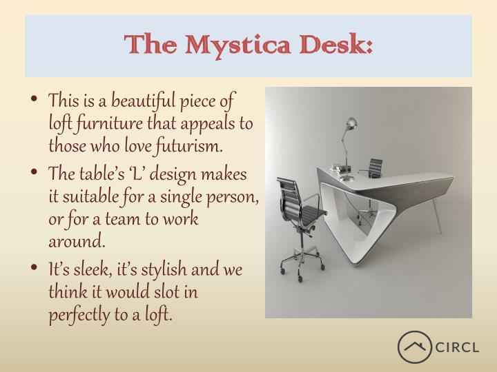 The Mystica Desk: