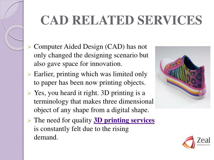 CAD RELATED SERVICES