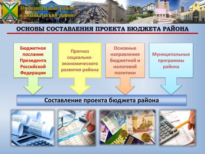 Основы составления проекта бюджета