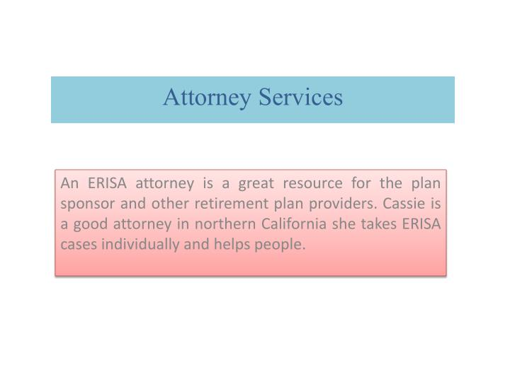 Attorney Services