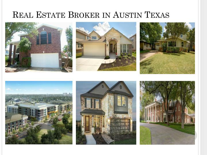 Real Estate Broker in Austin Texas