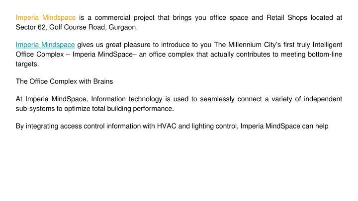 Imperia Mindspace