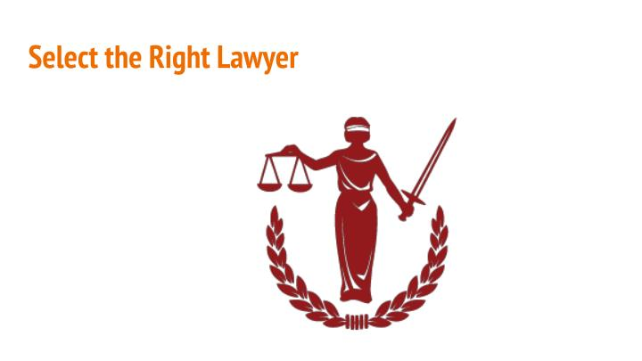 Select the Right Lawyer