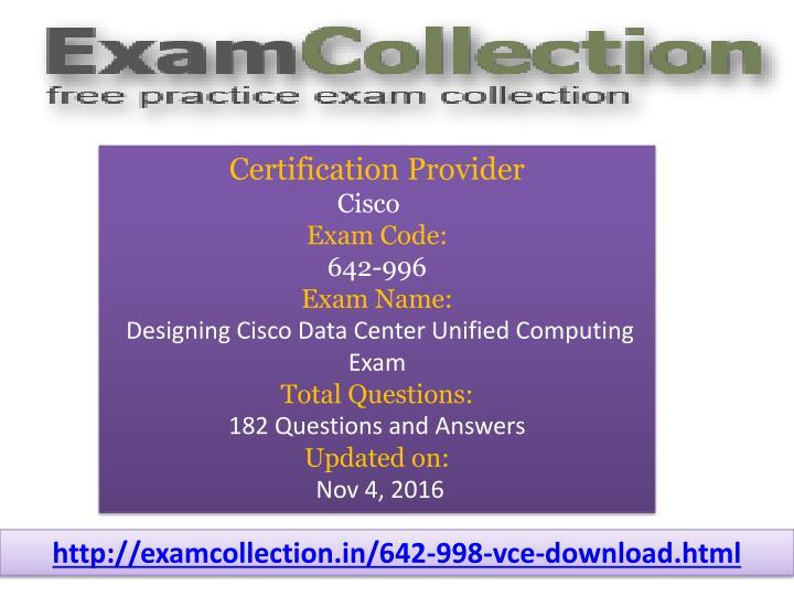 Certification Provider