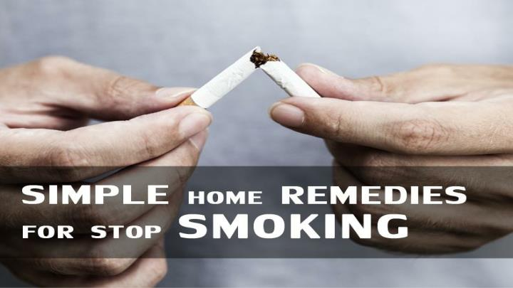 Simple home remedies for stop smoking