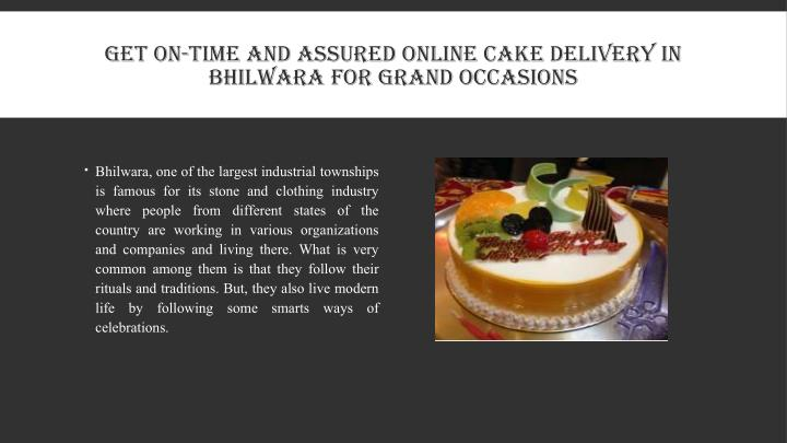 GET ON-TIME AND ASSURED ONLINE CAKE DELIVERY IN
