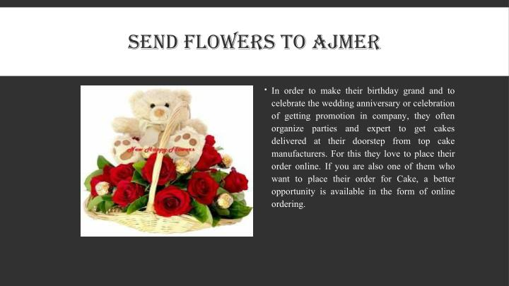 SEND FLOWERS TO AJMER