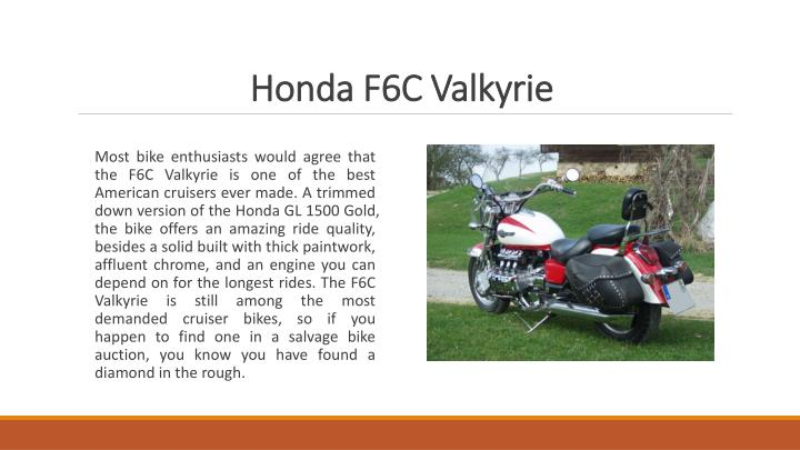 Honda F6C Valkyrie