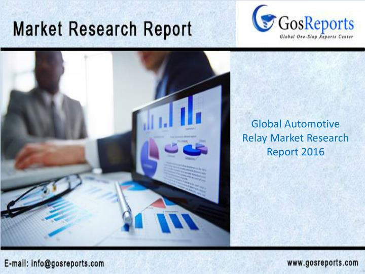 Global Automotive Relay Market Research Report 2016