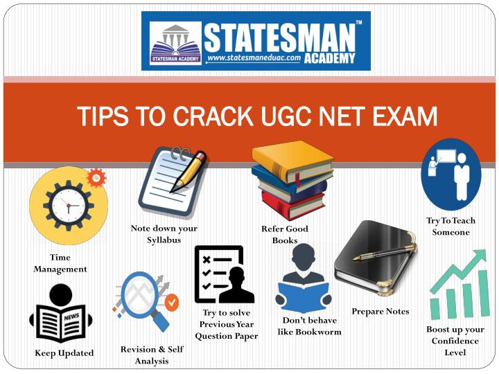 TIPS TO CRACK UGC NET EXAM