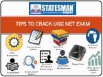 tips to crack ugc net exam