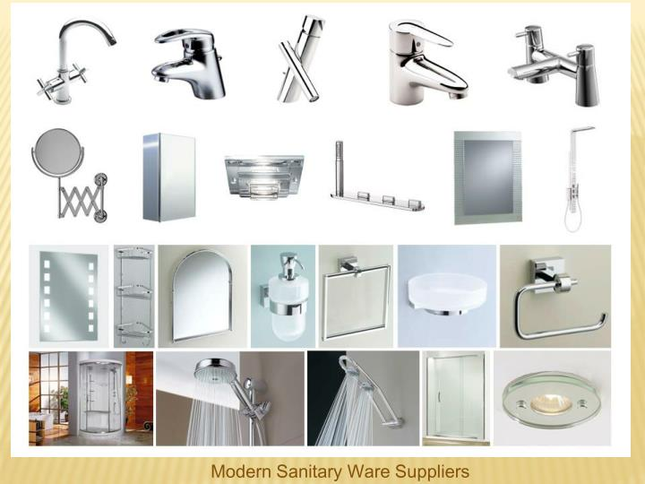 Modern Sanitary Ware Suppliers