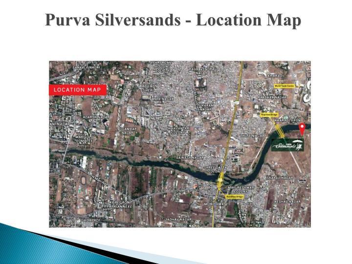 Purva Silversands - Location Map