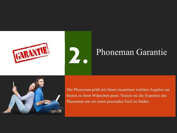 Phoneman Garantie