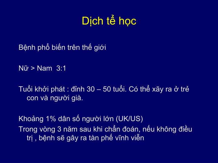 Dịch tể học