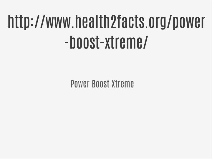 http://www.health2facts.org/power