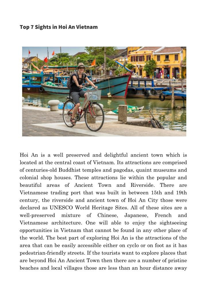 Top 7 Sights in Hoi An Vietnam