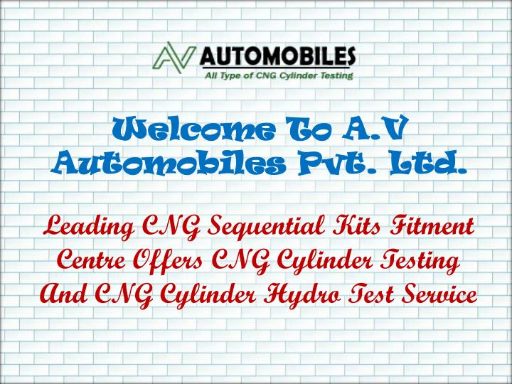 Welcome To A.V Automobiles Pvt. Ltd.