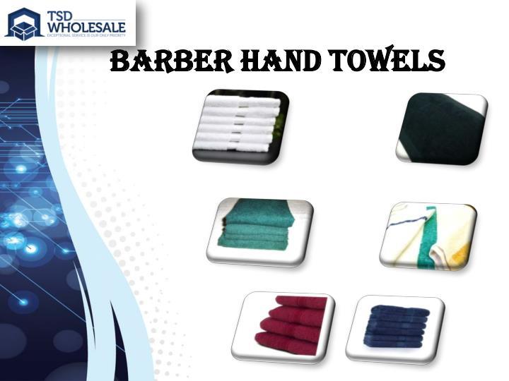 Barber Hand towels