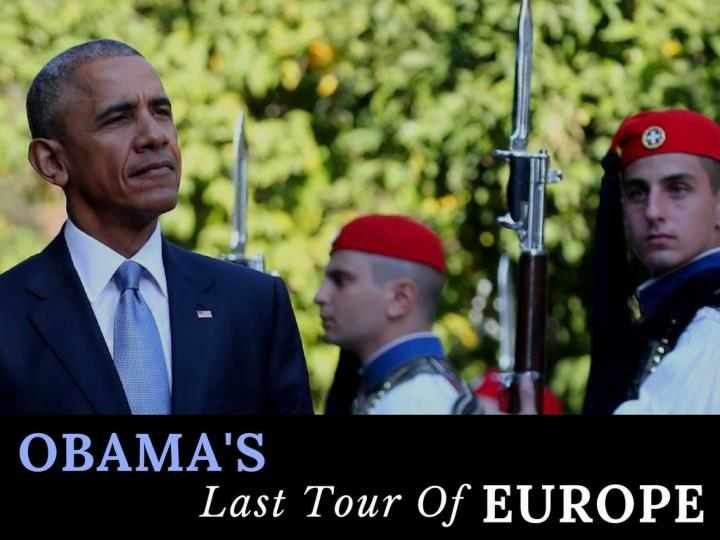Obama s last voyage through europe