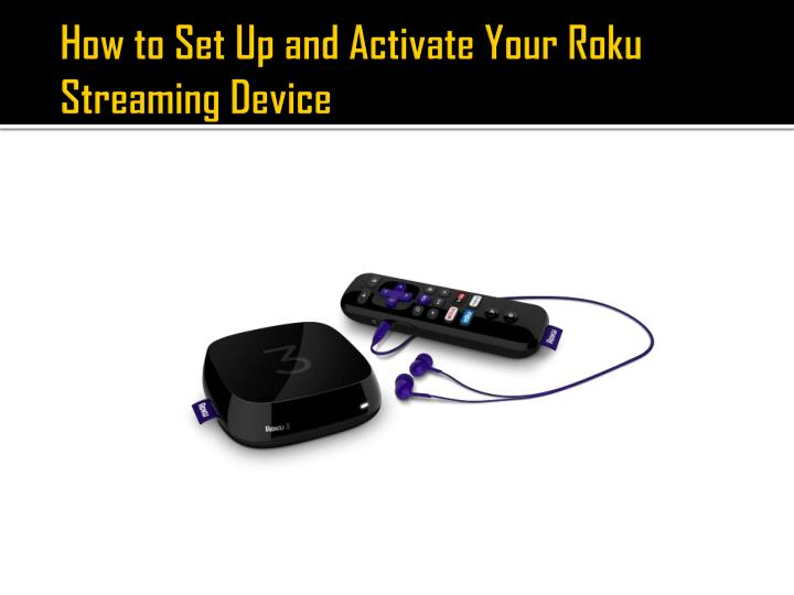 How to Set Up and Activate Your Roku