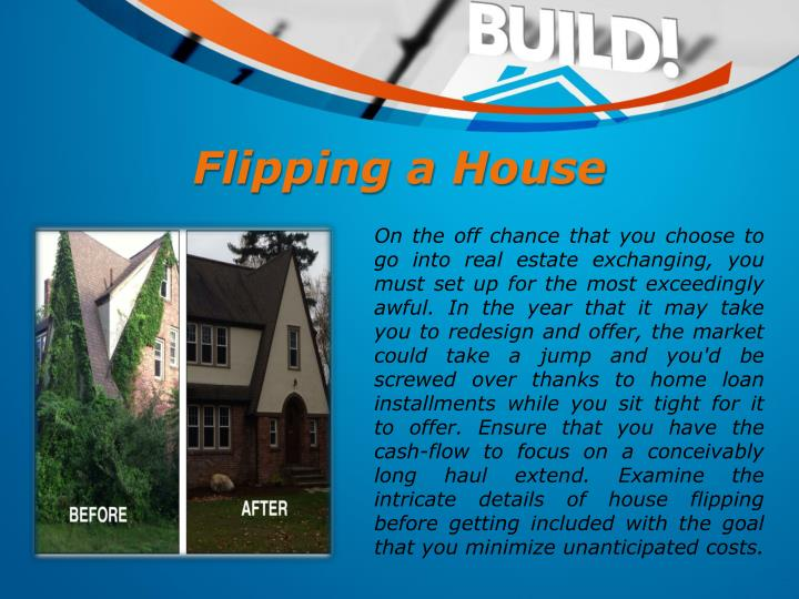 Flipping a House