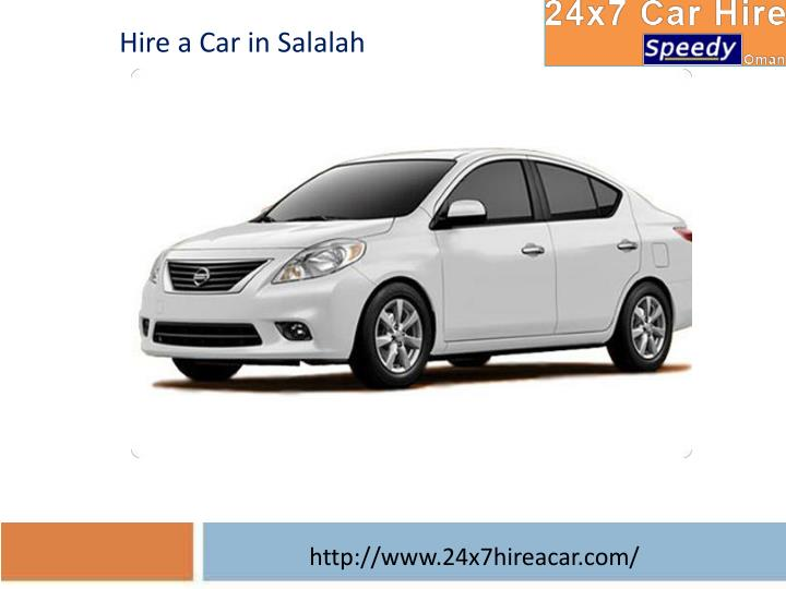 Hire a Car in