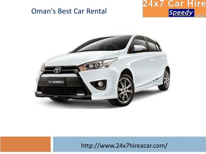 Oman's Best Car Rental