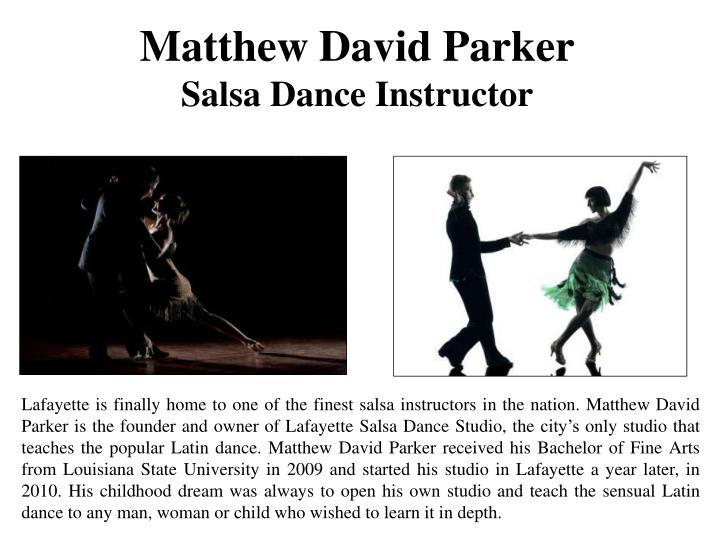 Matthew David Parker