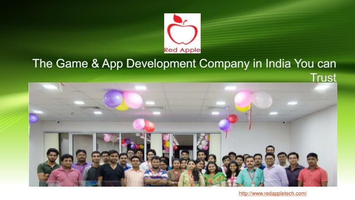 The game app development company in india you can trust