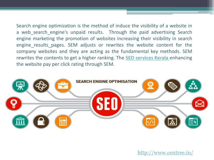 Search engine optimization is the method of induce the visibility of a website in a web