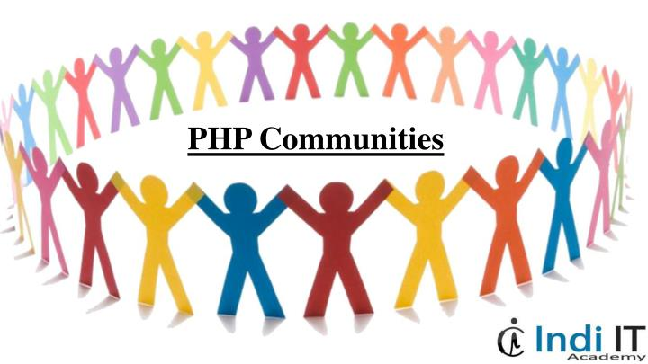 PHP Communities